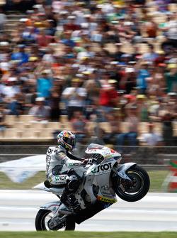 Andrea Dovizioso fête sa quatrième place