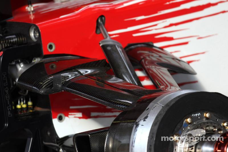 Toyota F1 Team, suspension