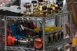 Scuderia Ferrari pit stop equipment