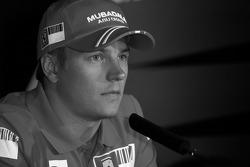 FIA basın toplantısı: Kimi Raikkonen, Scuderia Ferrari