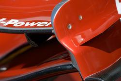Scuderia Ferrari détail de l'aileron