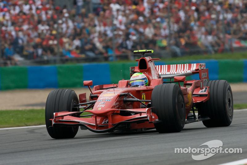 2008: Ferrari F2008 - 97 pontos, vice-campeão mundial