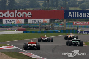 Race action at Magny Cours