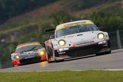 Mitsuhiro Kinoshita and Masami Kageyama, Hankook Porsche