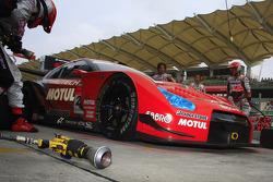 Michael Krumm of Nismo schedule pitstop