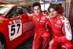 Henri Moser and Fabrizio Del Monte