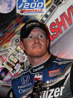 Post-race press conference: race winner Scott Dixon