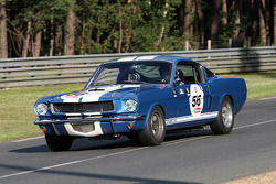 #56 Ford Shelby 350 GT 1966: Antoine Choque, Yvan Brunet