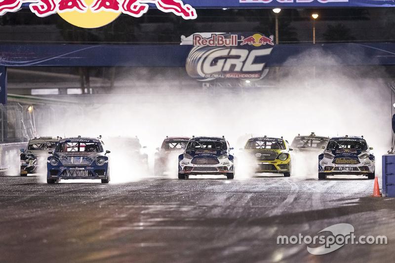 #9: Action beim Rallycross-Start
