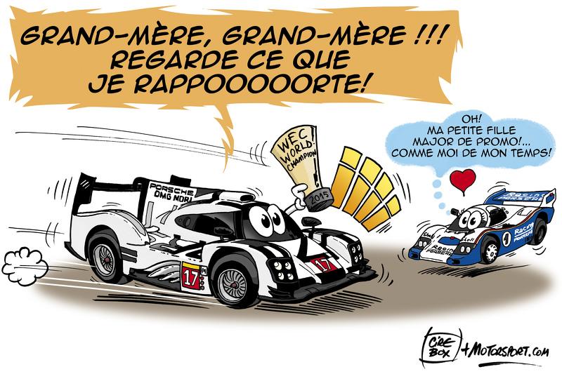 WEC - Porsche Champion du Monde!