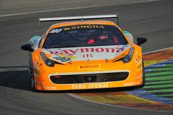 #180 Kessel Racing Ferrari 458: Gautam Singhania