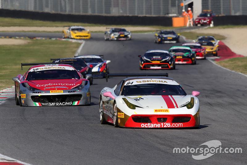 #84 Octane 126 Ferrari 458 Bjorn Grossmann