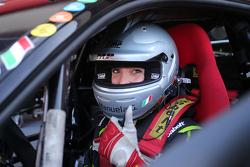 #183 Ineco - MP Racing Ferrari 458: Manuela Gostner pronta a partire