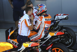 Third place qualifier Dani Pedrosa, Repsol Honda Team