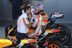 Terzo qualificato Dani Pedrosa, Repsol Honda Team