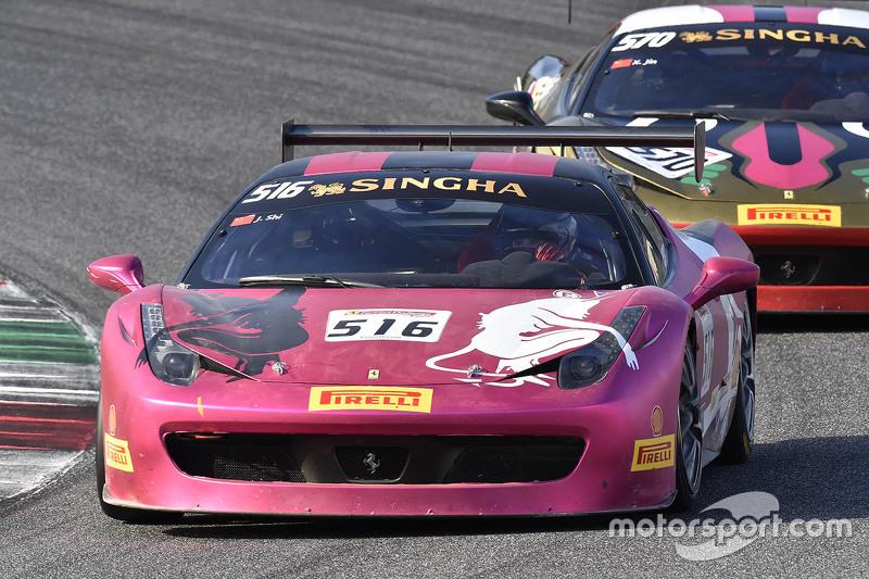 السيارة رقم 516 إيطاليا أوتو شنغهاي فيراري 458: جينغ شي