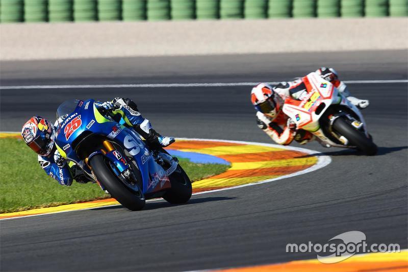 Maverick Viñales, Suzuki MotoGP Takımı ve Yonny Hernveez, Pramac Racing Ducati