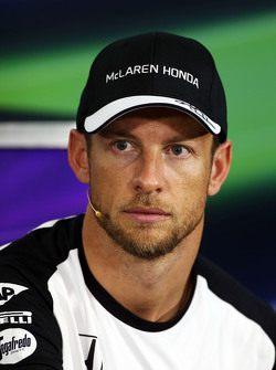 Дженсон Баттон, McLaren на пресс-конференции FIA