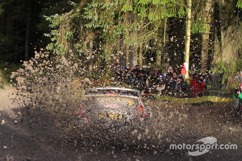 Ott Tanak en Molder Raigo, M-Sport Ford Fiesta WRC
