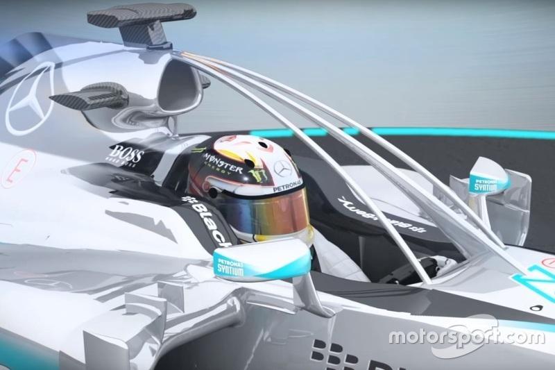 Geschlossenes Cockpit für die Formel 1