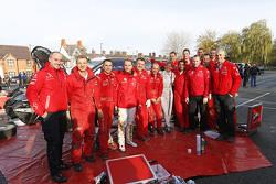 سوزي وولف مع فريق سيتروين العالمي للراليات
