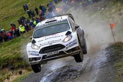 Ott Tanak et Raigo Molder, M-Sport Ford Fiesta WRC