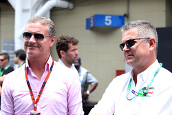 David Coulthard y Gil de Ferran
