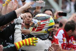 Segundo lugar Lewis Hamilton, Mercedes AMG F1 Team
