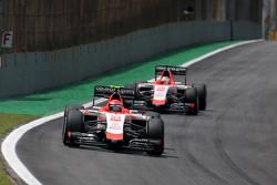 Alexander Rossi, Manor F1 Team and Will Stevens, Manor F1 Team