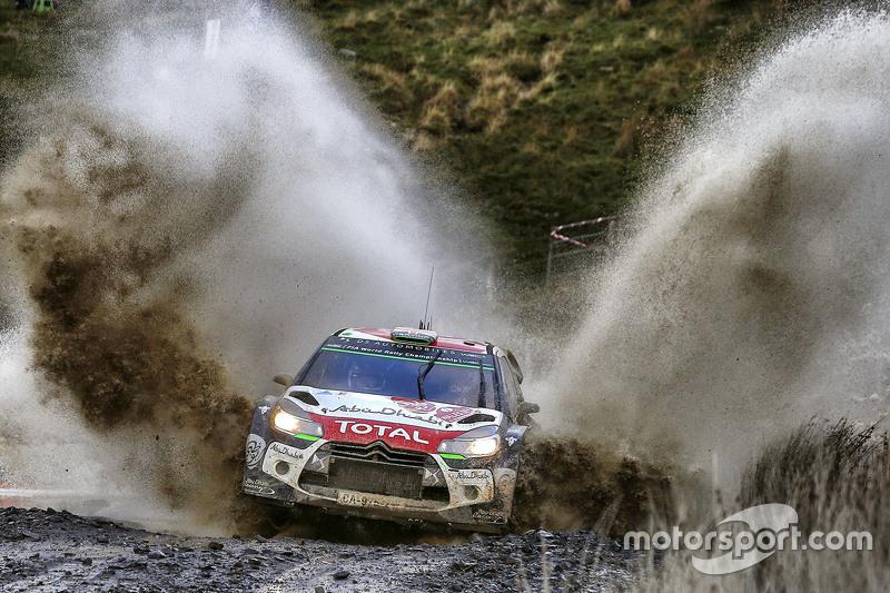 WRC - Kris Meeke et Paul Nagle, Citroën DS3 WRC, Citroën World Rally Team