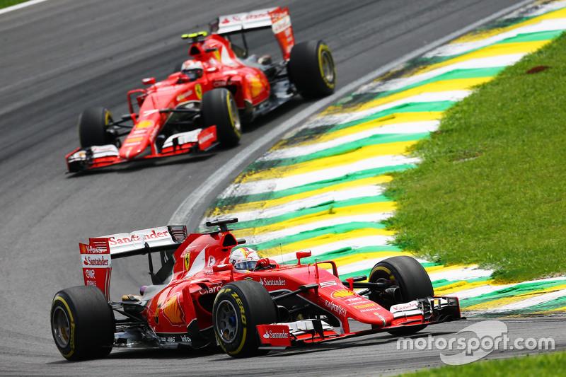 Desde el GP de Brasil 2015 que Ferrari no se baja de los puntos