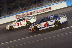 Trevor Bayne, Roush Fenway Racing Ford, und Brett Moffitt