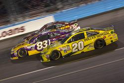 Matt Kenseth, Joe Gibbs Racing Toyota; Matt Dibenedetto, BK Racing Toyota