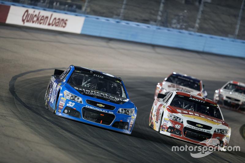 Ryan Ellis und Michael Annett, Hscott Motorsports Chevrolet