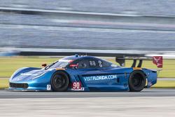 #90 VisitFlorida.com Racing, Corvette DP: Marc Goossens, Ryan Dalziel