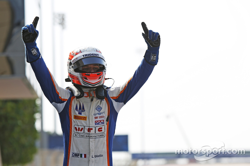 Race 2 Winner Luca Ghiotto, Trident