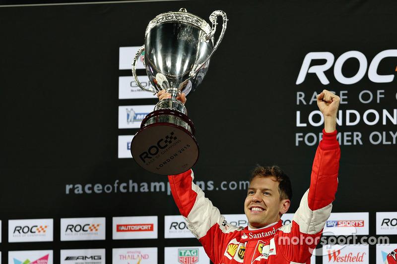 Race of Champions: Sebastian Vettel (Duitsland)