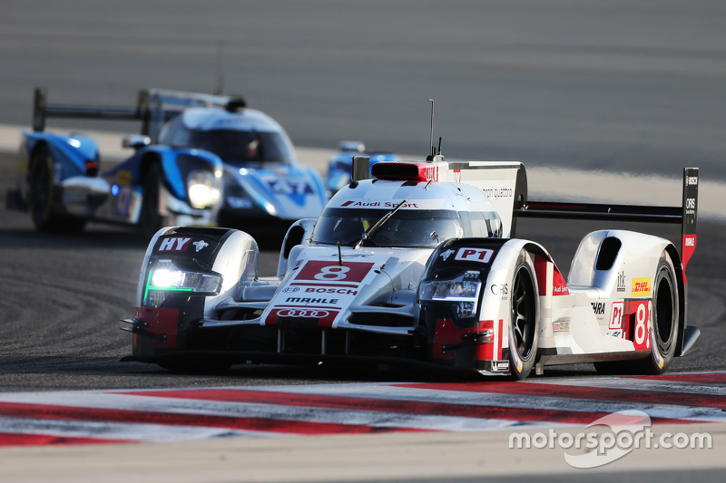 #8 Audi Sport Team, Joest Audi R18 e-tron quattro: Lucas di Grassi, Loic Duval, Oliver Jarvis