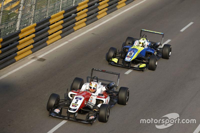 Lance Stroll, Prema Powerteam, Dallara Mercedes-Benz