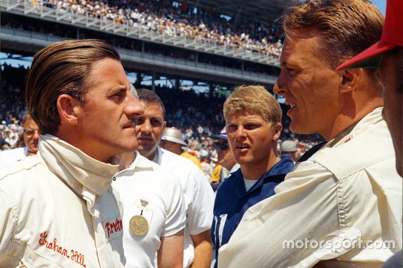 Graham Hill y Dan Gurney