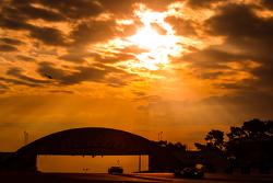 Sonnenaufgang in Le Mans