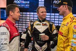 Tom Kristensen, Petter Solberg and Ryan Hunter-Reay