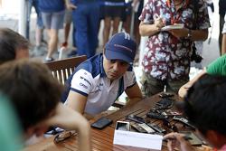 Felipe Massa, Williams con los medios