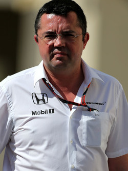 Ерік Бульє, McLaren F1 Team