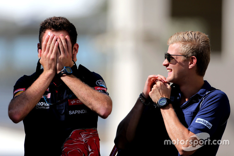 Marcus Ericsson, Sauber F1 Team and Sam Village,