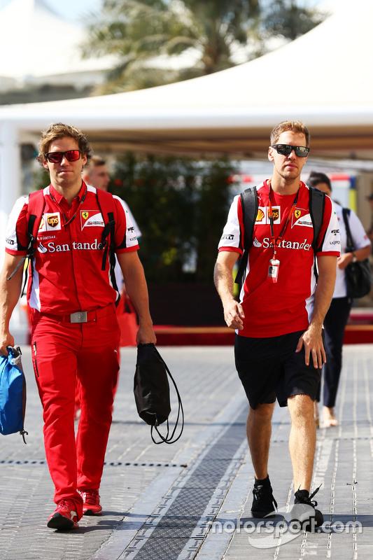 Sebastian Vettel, Ferrari met Antti Kontsas, Personal Trainer
