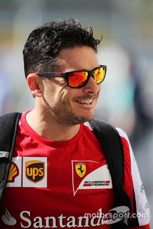 Giancarlo Fisichella, Ferrari derde rijder