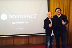 Denis Sverdlov, Kinetic fundador y Alejandro Agag, jefe de la Fórmula E