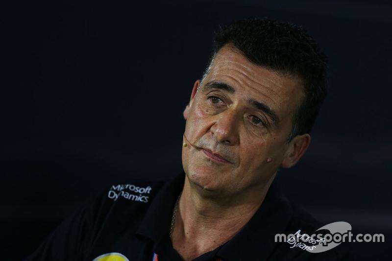 Federico Gastaldi, Lotus F1 Team, in der FIA-Pressekonferenz