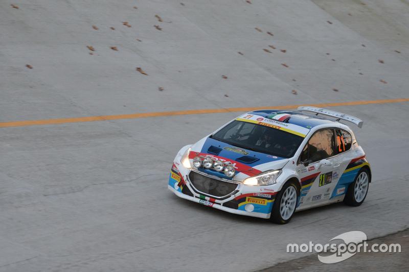 Simone Giordano und Renata Scarzello, Peugeot 208 T16